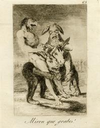 Goya physionomiste, Fête nationale de l'estampe au Musée des Beaux Arts à Bordeaux