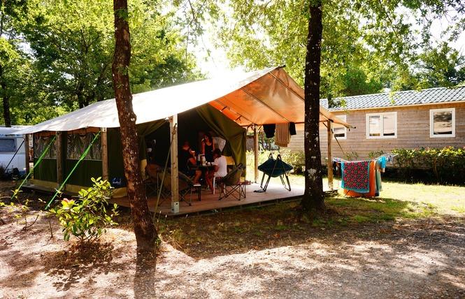 Camping Flower Le Médoc Bleu 6 - Carcans