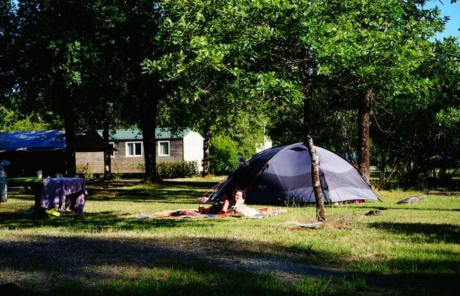 Camping Flower Le Médoc Bleu 5 - Carcans