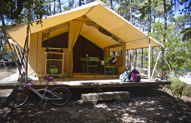 Camping Huttopia Lac de Carcans 11 - Carcans