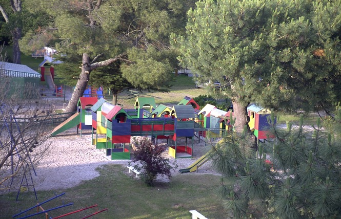 Camping Le Coq Hardi 10 - Lanton