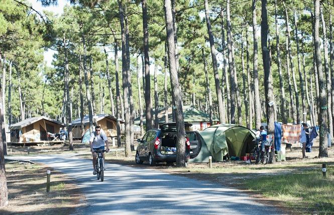 Camping Huttopia Lac de Carcans 6 - Carcans