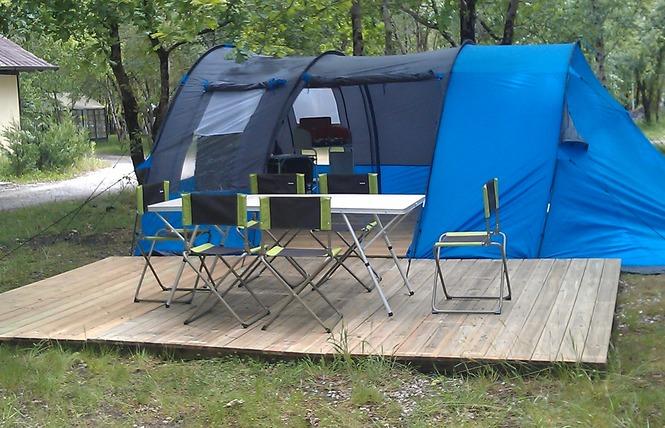 Camping La Rochade 14 - Naujac-sur-Mer