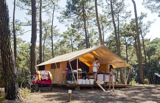 Camping Huttopia Lac de Carcans 4 - Carcans