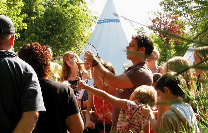 Camping Castel le Village Western 6 - Hourtin