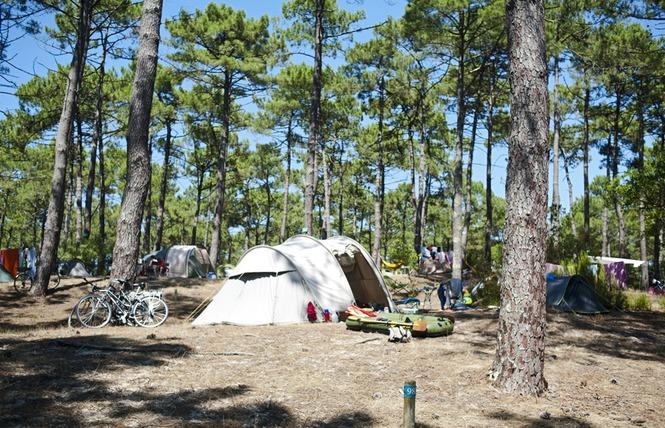 Camping Huttopia Lac de Carcans 3 - Carcans