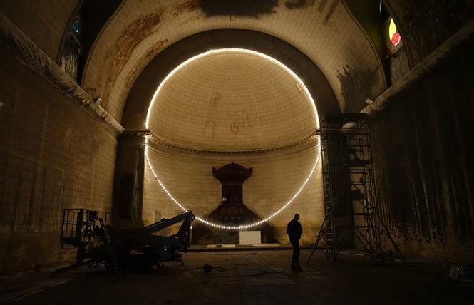 Exposition de Gonzalo Borondo au Temple des Chartrons à Bordeaux 3 - Bordeaux