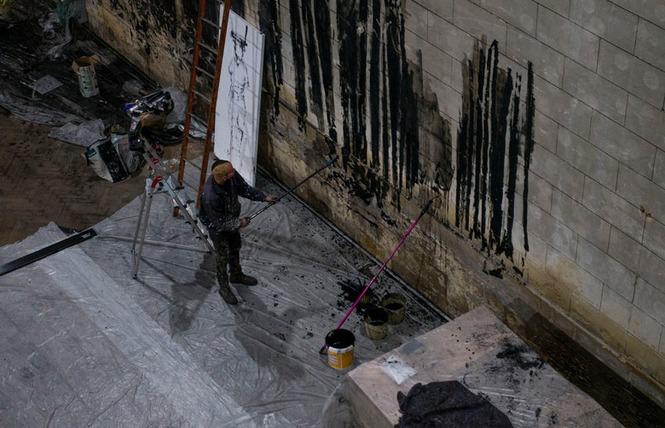 Exposition de Gonzalo Borondo au Temple des Chartrons à Bordeaux 4 - Bordeaux