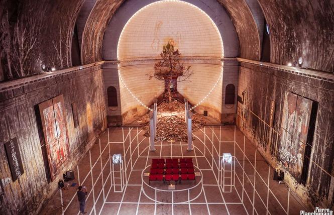 Exposition de Gonzalo Borondo au Temple des Chartrons à Bordeaux 8 - Bordeaux