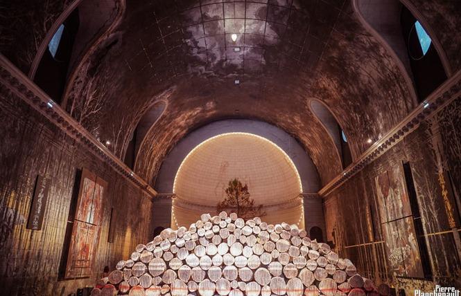 Exposition de Gonzalo Borondo au Temple des Chartrons à Bordeaux 6 - Bordeaux